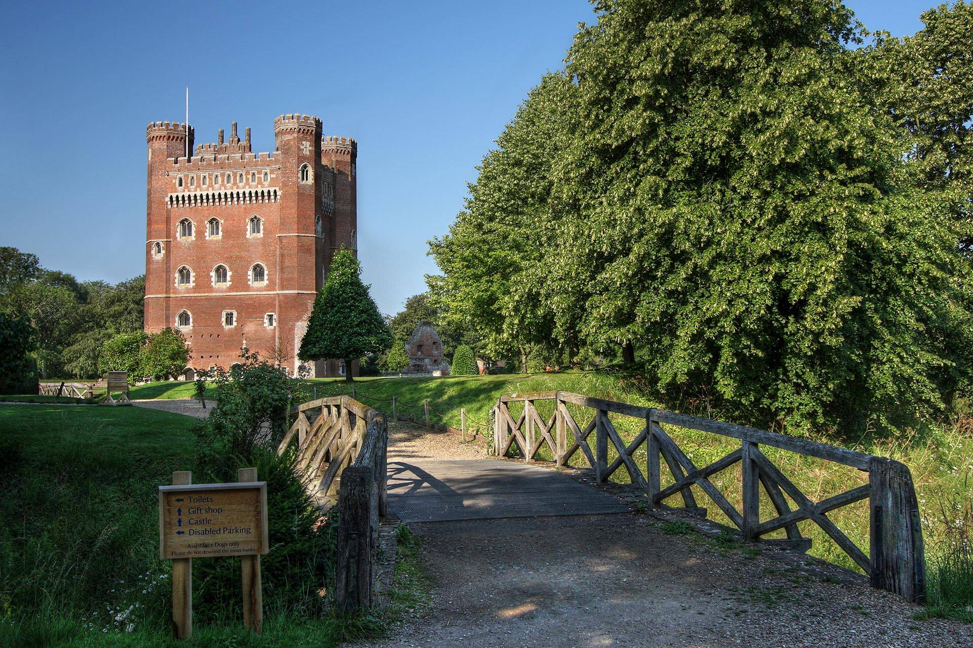 Tattershall Castle, Lincolnshire, England, north east of Sleafor
